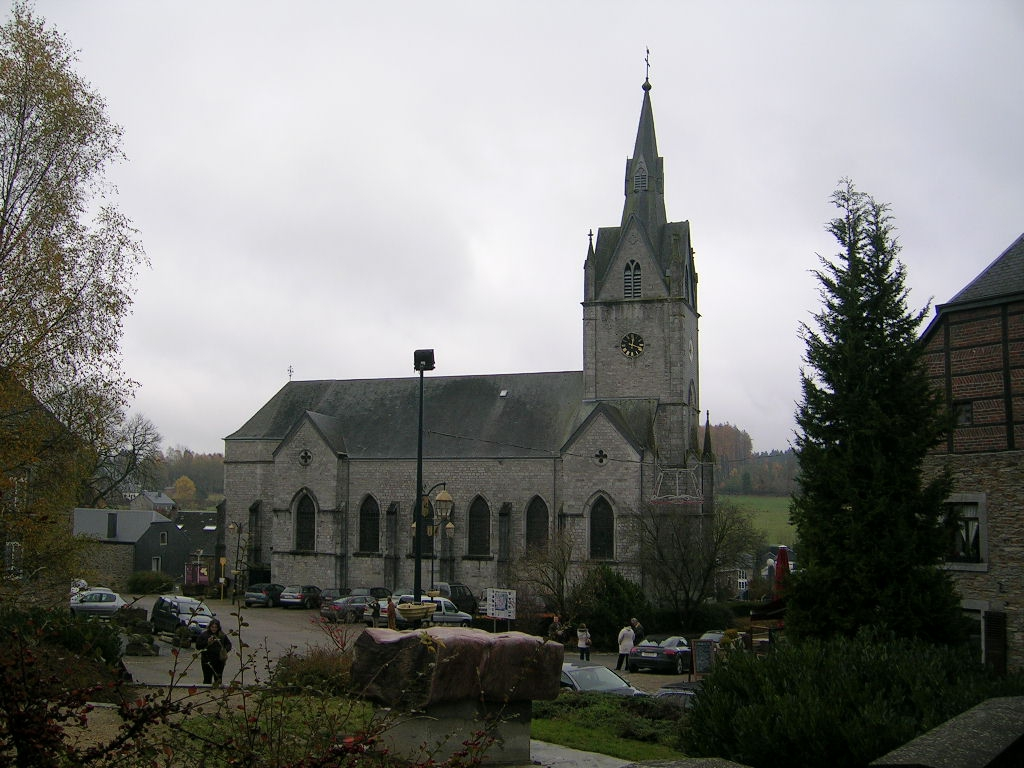 Eglise Saint-Hubert de Redu