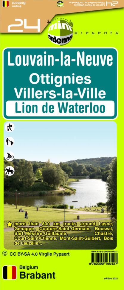 24 Louvain-la-Neuve Ottignies Villers-la-Ville Lion de Waterloo